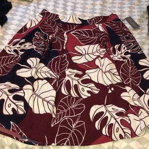 New York & Company Eva Mendes Pleated Skirt